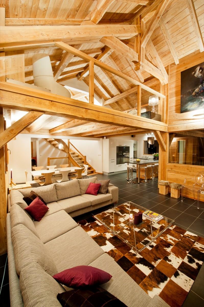 Chalets andr faure vincent construction de chalets bois for Chalet bois design