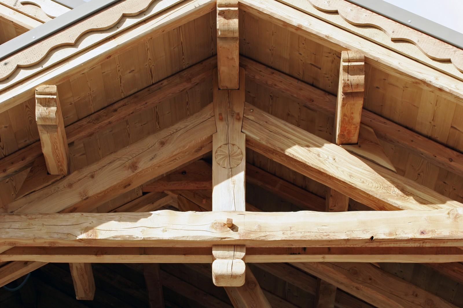 Chalets André FaureVincent  Construction de chalets bois (mélèze)